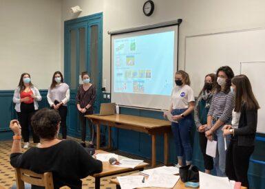 les-etudiants-de-2eme-annee-de-bts-anabiotec-presentent-leur-stage-a-la-nouvelle-promotion